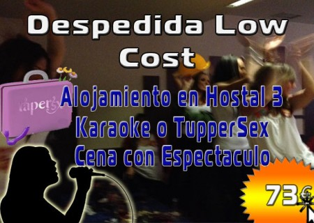 Despedida Low Cost en Burgos, 73€