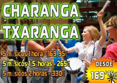 Despedidas de Soltera: Charanga con 5 músicos, 1 horas por 169,95 €