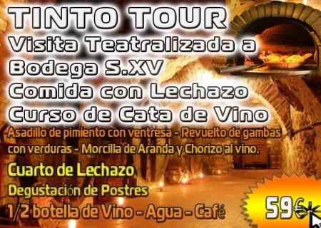 Despedidas de Soltera Aranda de Duero: Visita a Bodega + Comida + Cata 59€*