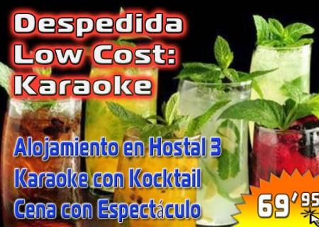 Despedida Low Cost en Burgos: Karaoke – 69,95€