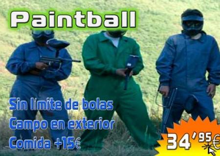 Paintball en Burgos Sin Límite de Bolas – 35€