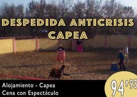 Despedida Anti Crisis: Capea en Burgos – 94,95€