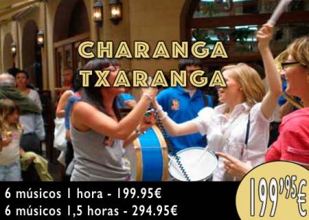 Despedidas de Soltera: Charanga con 6 músicos, 1 hora por 199,95 €