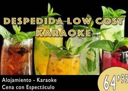 Despedida Low Cost en Burgos: Karaoke – 64,95€