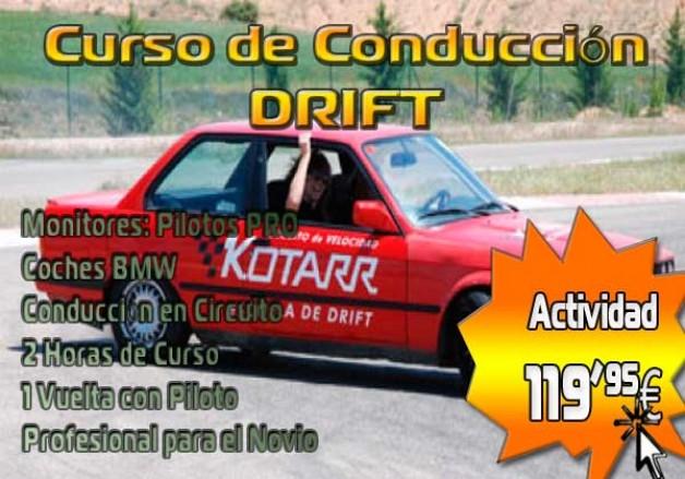 Despedidas de Soltero Burgos: Curso de Drift 119,95€