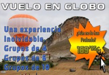Despedidas de Soltera en Burgos: Vuelo en Globo, desde 169,95€