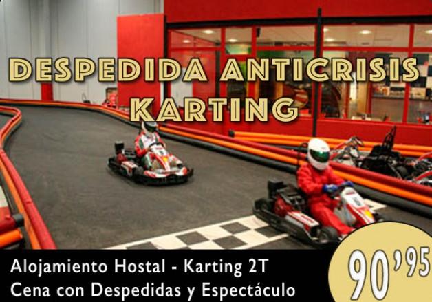 Despedida Anti Crisis Karting en Burgos – 90,95€