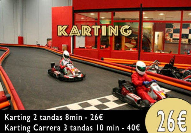 Karting Burgos, Karting Indoor Burgos, desde 26€