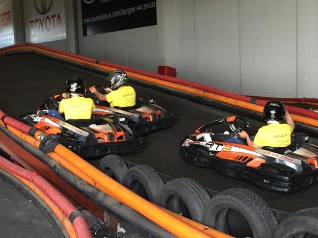 Karting en Burgos – despedidas