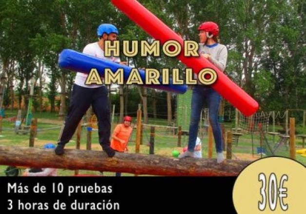 Actividad Humor Amarillo en Burgos